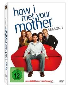 How I Met Your Mother Season 1, 3 DVDs