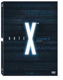 Akte X Season 3, 7 DVDs