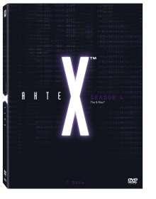Akte X Season 4, 7 DVDs