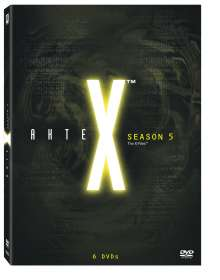 Akte X Season 5, 6 DVDs