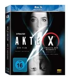 Akte X: Der Film / Akte X: Jenseits der Wahrheit (Blu-ray), 2 Blu-ray Discs