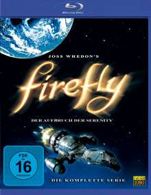 Firefly - Die komplette Serie (Blu-ray), 3 Blu-ray Discs