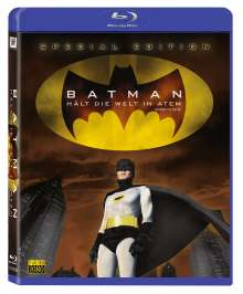Batman hält die Welt in Atem (Blu-ray), Blu-ray Disc