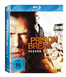 Prison Break Season 3 (Blu-ray), 4 Blu-ray Discs