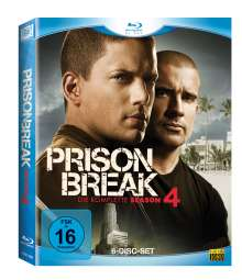 Prison Break Season 4 (Blu-ray), 6 Blu-ray Discs