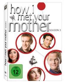 How I Met Your Mother Season 3, 3 DVDs
