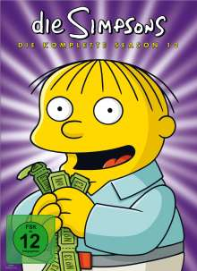 Die Simpsons Season 13 (Digipack), 4 DVDs