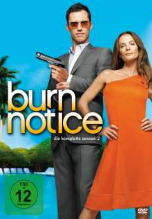 Burn Notice Season 2, 4 DVDs
