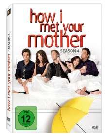 How I Met Your Mother Season 4, 3 DVDs