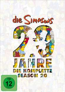 Die Simpsons Season 20, 4 DVDs