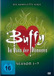 Buffy - Im Bann der Dämonen (Komplette Serie), 39 DVDs