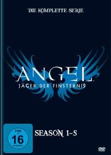 Angel Season 1-5 (Komplette Serie), 30 DVDs