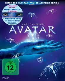 Avatar (Extended Collector's Edition) (Blu-ray), 3 Blu-ray Discs