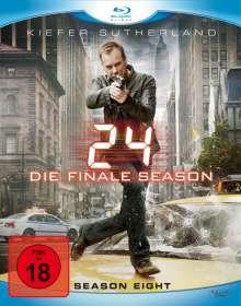 24 Season 8 (finale Staffel) (Blu-ray), 6 Blu-ray Discs