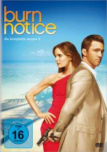 Burn Notice Season 3, 4 DVDs