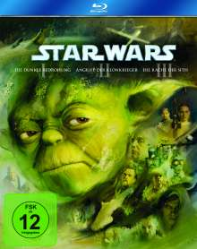 Star Wars: Episode I-III (Blu-ray), 3 Blu-ray Discs