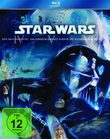 Star Wars: Episode IV-VI (Blu-ray), 3 Blu-ray Discs