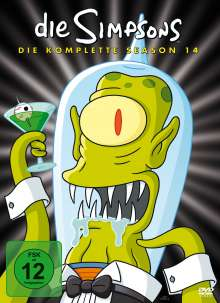 Die Simpsons Season 14 (Digipack), 4 DVDs