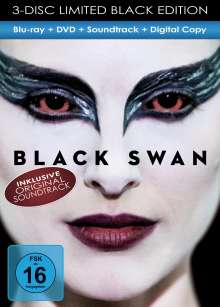 Black Swan (Blu-ray + DVD + Digital Copy + Soundtrack), Blu-ray Disc