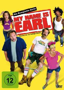 My Name Is Earl Season 1-4 (Complete Box), 16 DVDs
