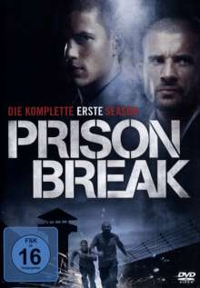 Prison Break Season 1, 6 DVDs