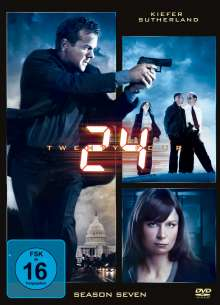 24 Season 7, 6 DVDs