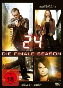 24 Season 8 (finale Staffel), 6 DVDs