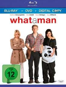 What A Man (Blu-ray + DVD + Digital Copy), Blu-ray Disc
