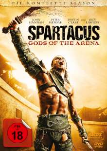 "Spartacus - Gods Of The Arena (Complete Season-Prequel zu ""Blood & Sand""), 3 DVDs"