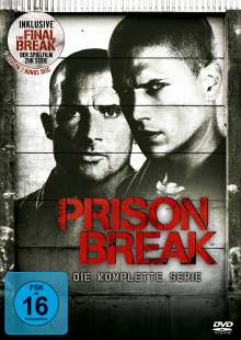 "Prison Break Season 1-4 (+ Spielfilm ""Final Break""), 24 DVDs"