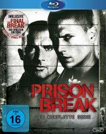 """Prison Break Season 1-4 (+ Spielfilm """"Final Break"""") (Blu-ray), 24 Blu-ray Discs"""