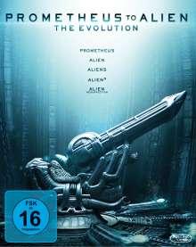 Alien 1-4 + Prometheus (Blu-ray), 5 Blu-ray Discs