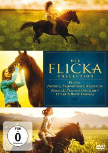 Flicka 1-3, 3 DVDs