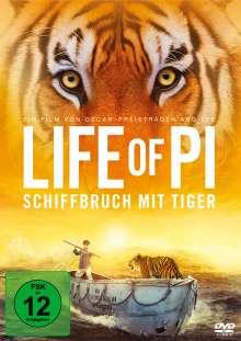 Life Of Pi, DVD
