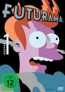 Futurama Season 1, 3 DVDs