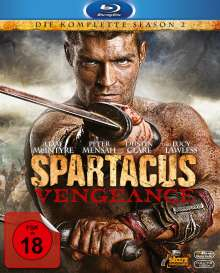 Spartacus Season 2: Vengeance (Blu-ray), 4 Blu-ray Discs