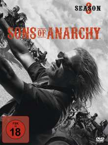 Sons of Anarchy Season 3, 4 DVDs