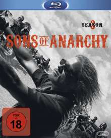 Sons of Anarchy Season 3 (Blu-ray), 3 Blu-ray Discs