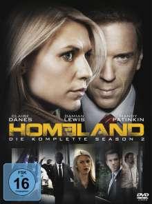 Homeland Staffel 2, 4 DVDs