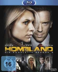 Homeland Staffel 2 (Blu-ray), 3 Blu-ray Discs