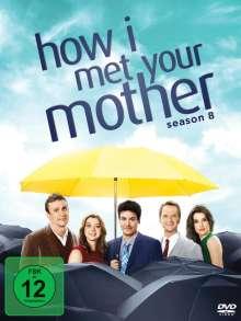 How I Met Your Mother Season 8, 3 DVDs