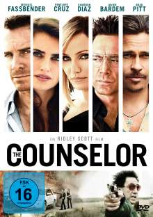 The Counselor, DVD