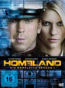 Homeland Staffel 1, 4 DVDs