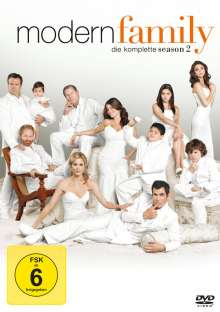 Modern Family Season 2, 4 DVDs