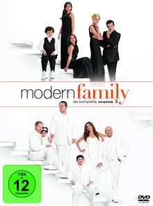 Modern Family Season 3, 3 DVDs