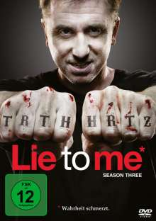 Lie To Me Season 3, 4 DVDs