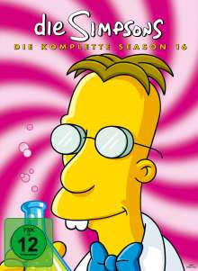 Die Simpsons Season 16, 4 DVDs