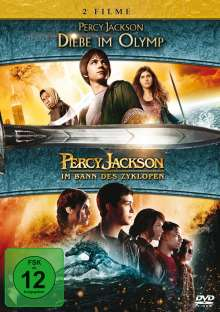 Percy Jackson 1 & 2, 2 DVDs