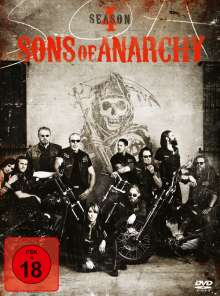 Sons of Anarchy Season 4, 4 DVDs