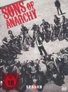 Sons of Anarchy Season 5, 4 DVDs